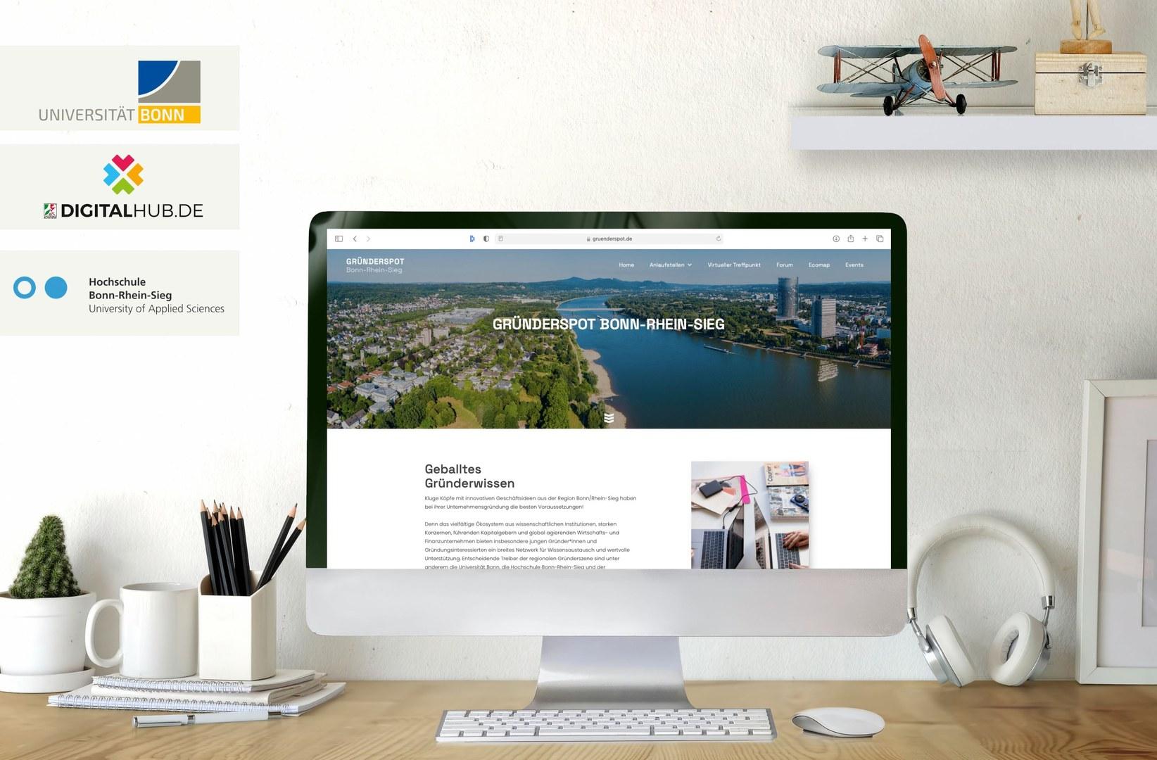 New internet platform gruenderspot.de