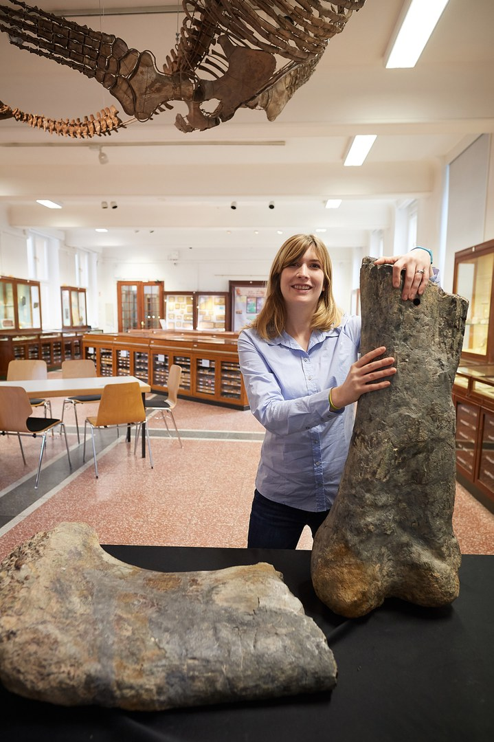 Palaeontologist Jessica Mitchell