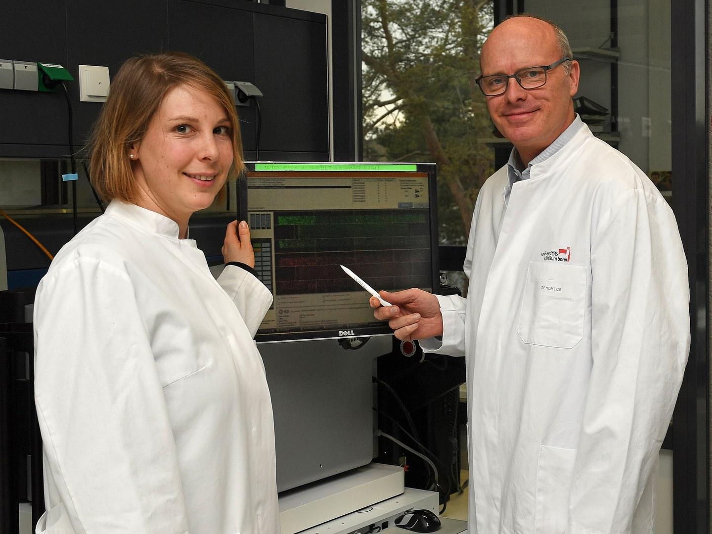 Dr. Stefanie Heilmann-Heimbach and Prof. Markus Nöthen