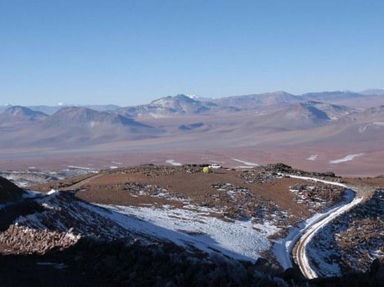 Cerro Chajnantor in Chile: