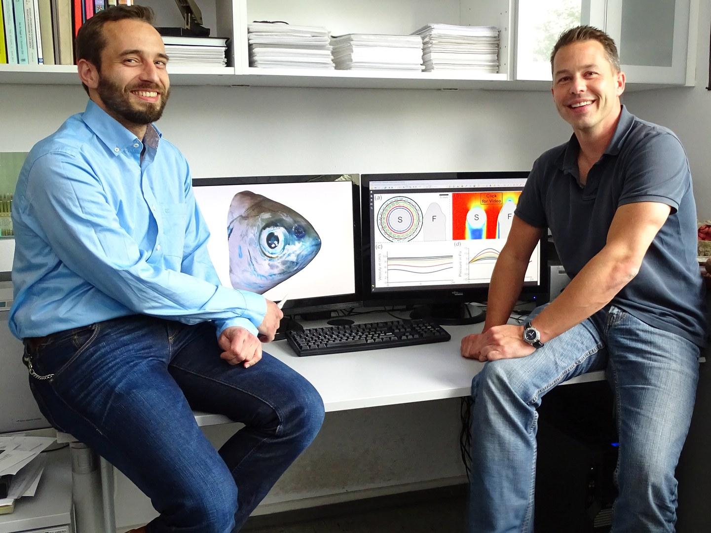Dr. Hendrik Herzog (left) and Dr. Alexander Ziegler