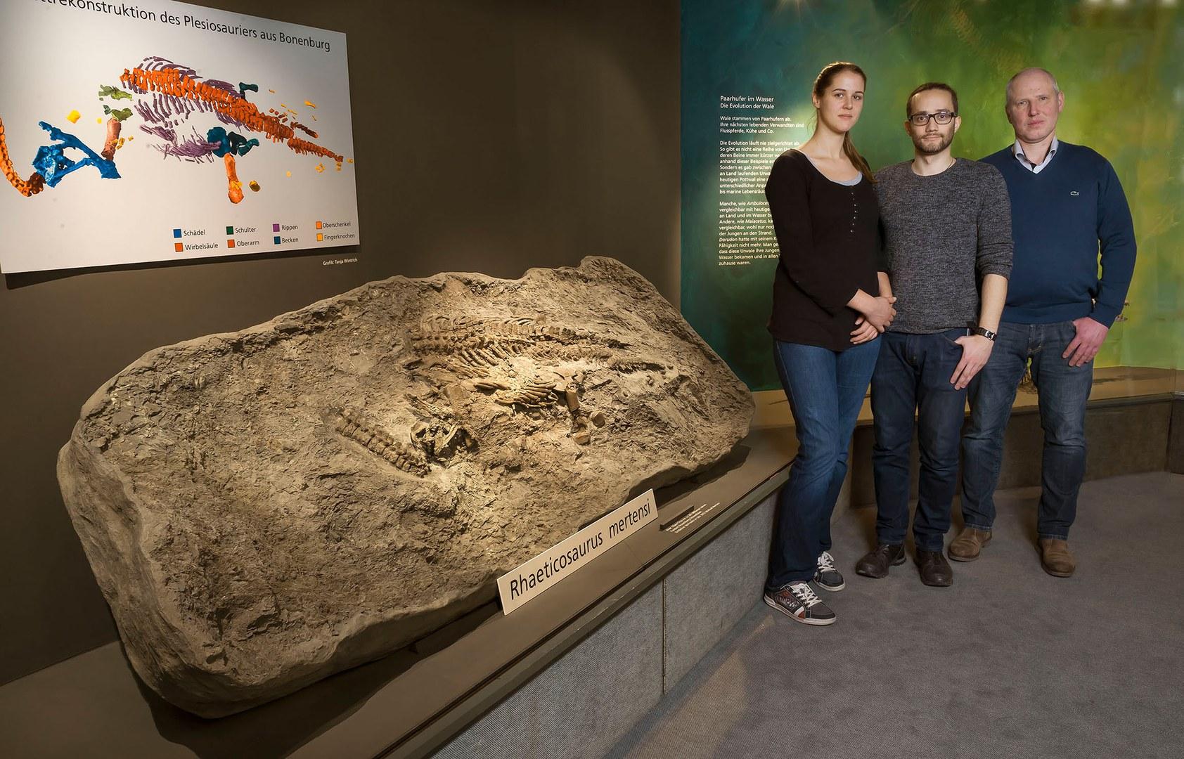 Paleontologist Tanja Wintrich from the University of Bonn,
