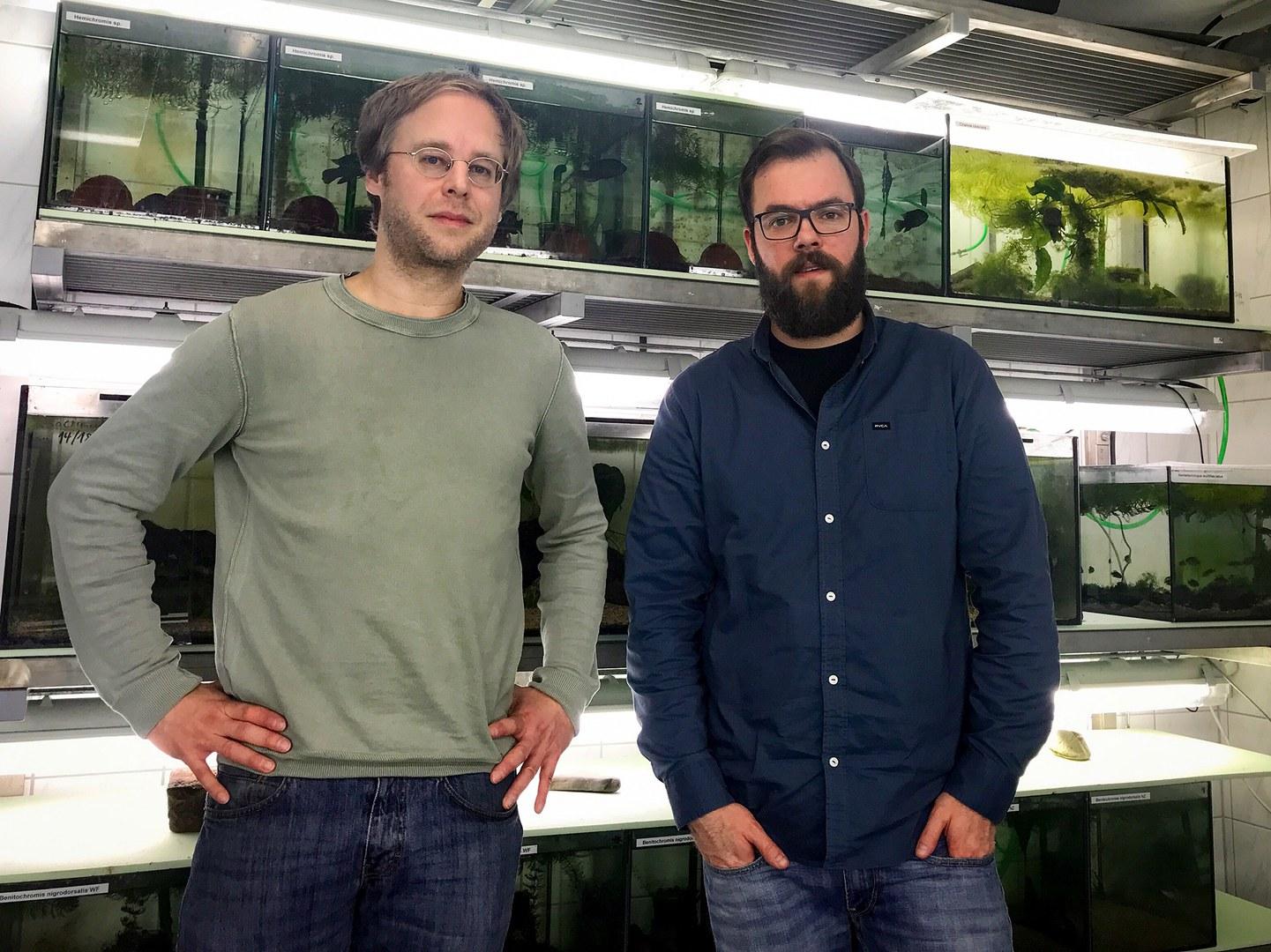 Dr. Ingolf Rick (left) and Simon Vitt