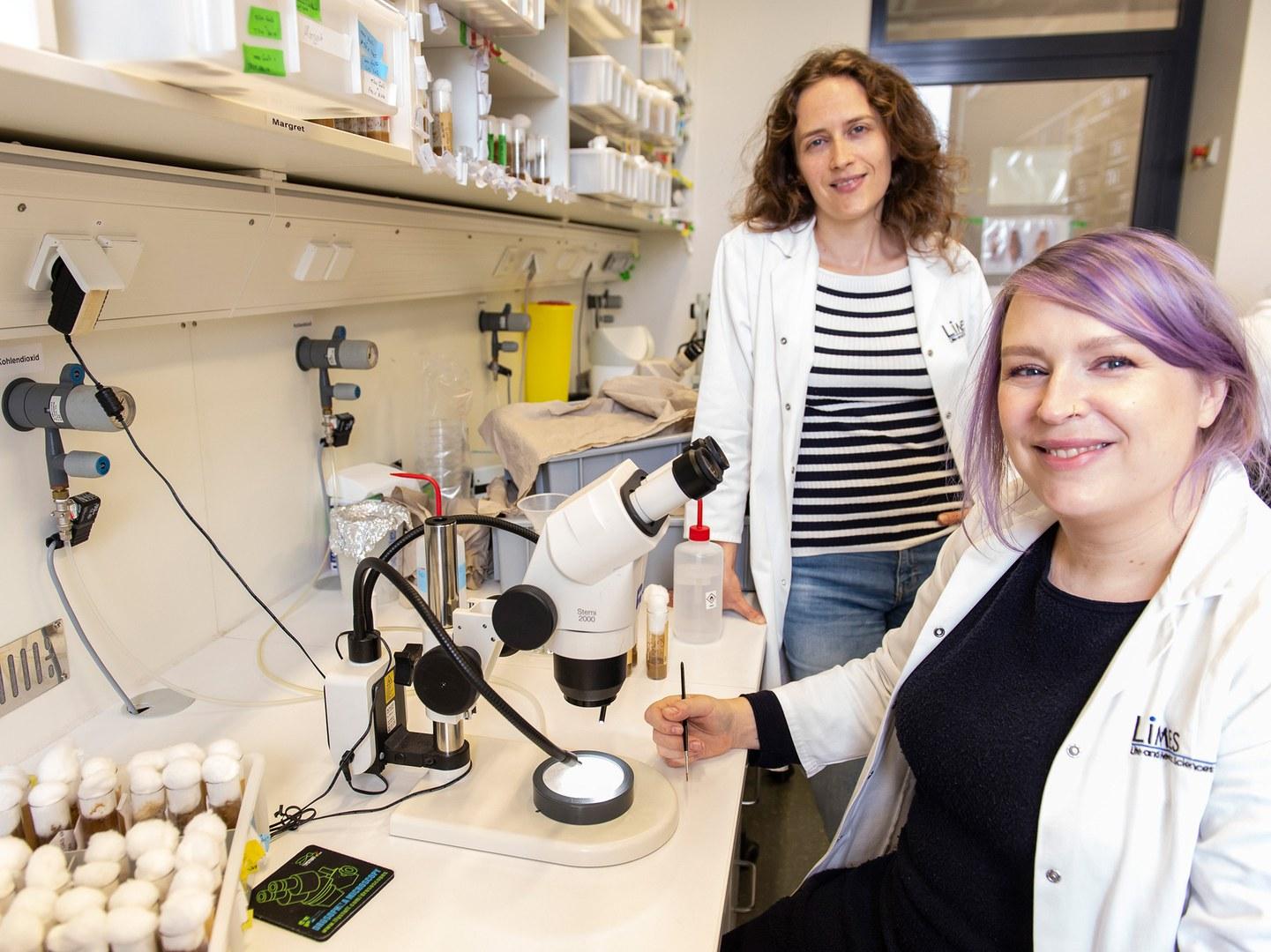 Dr. Margret Bülow (left) and Dr. Julia Sellin