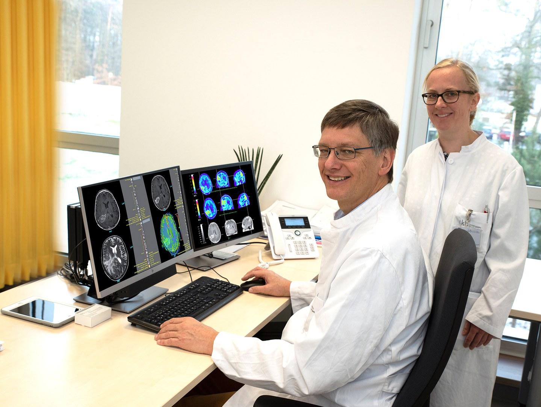 Prof. Dr. Ulrich Herrlinger and Dr. Christina Schaub
