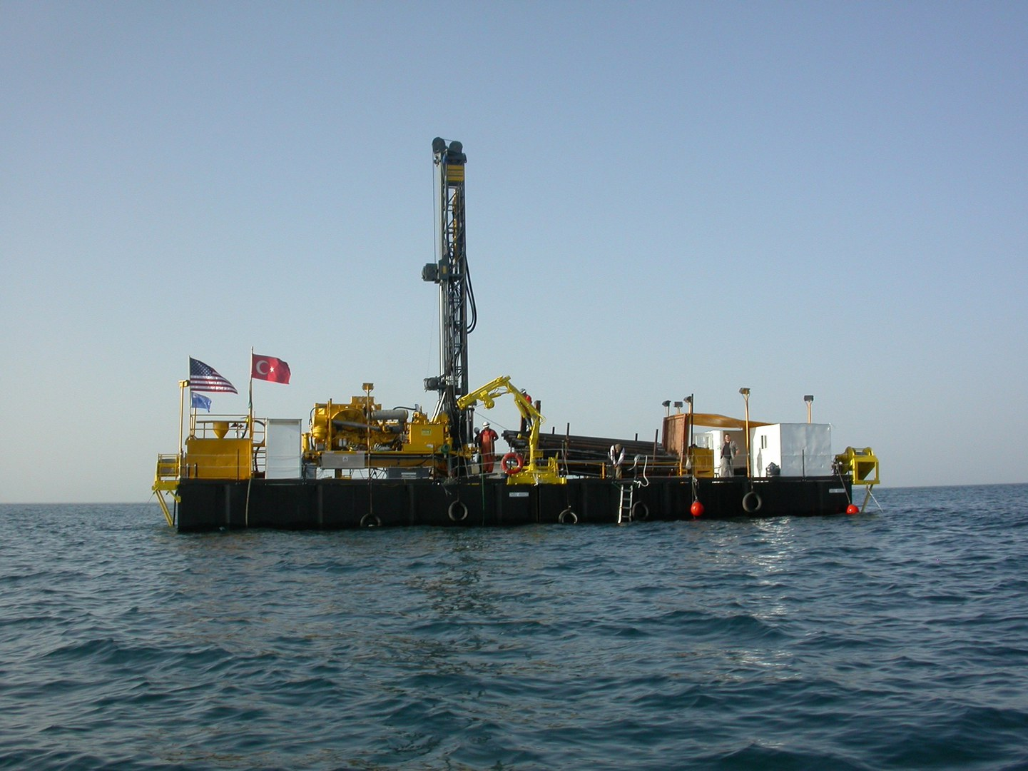Deep Lake Drilling System: