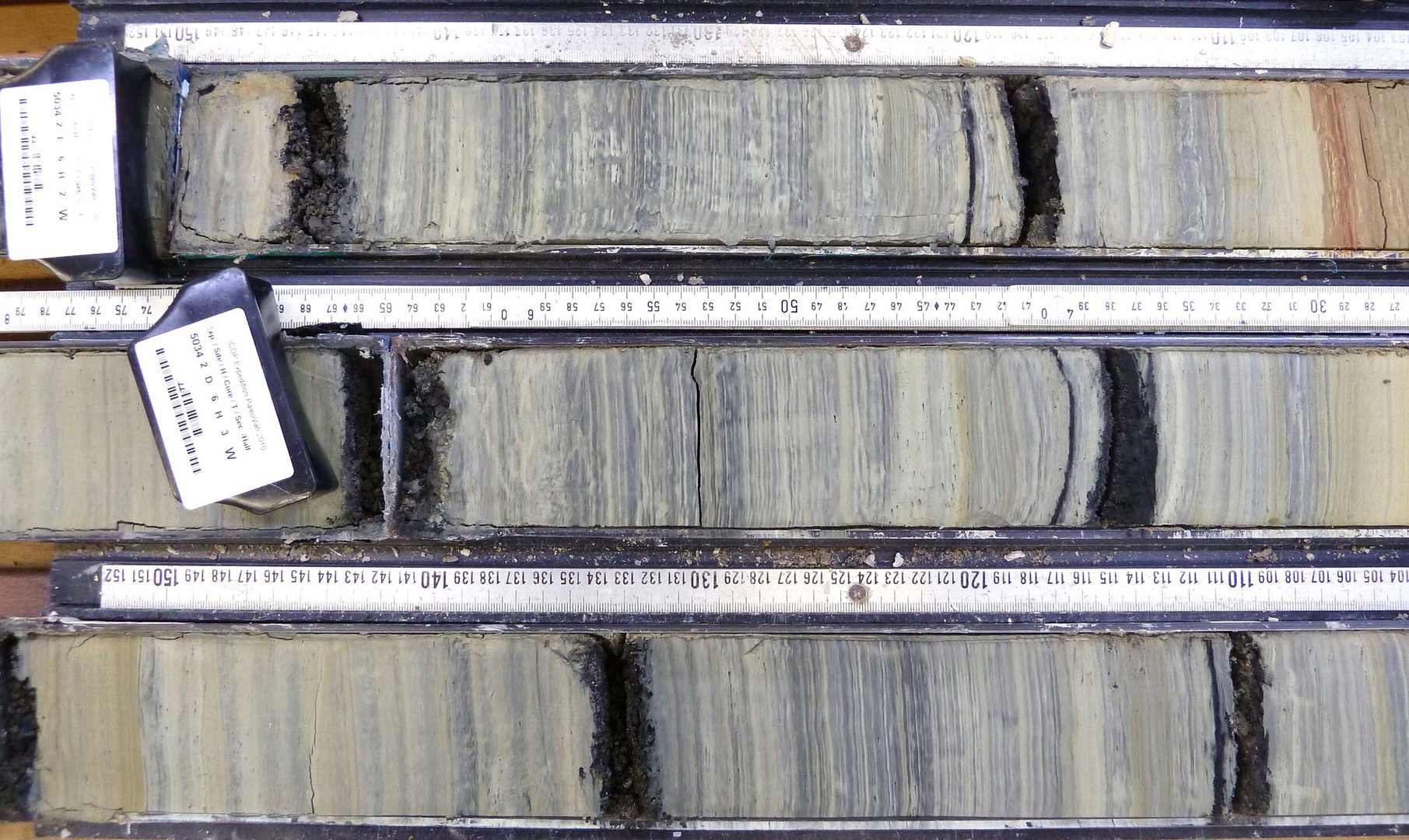 Lake Van sediments