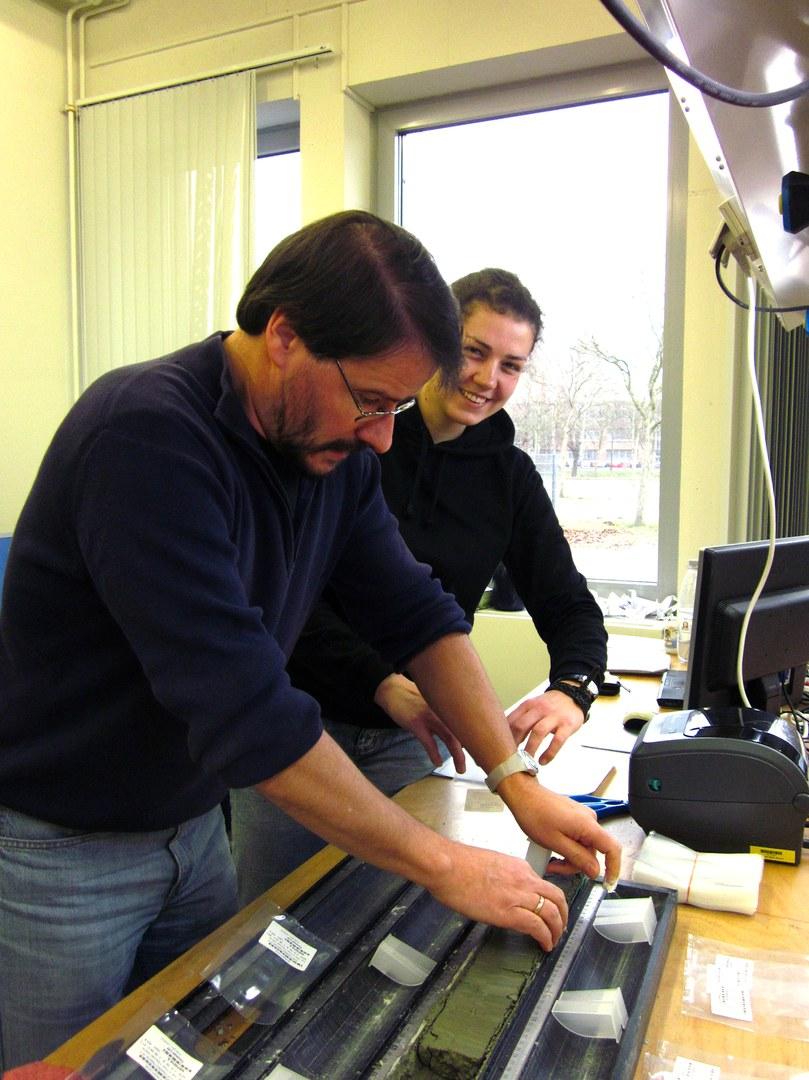 Prof. Dr. Thomas Litt and Manuela Rüßmann