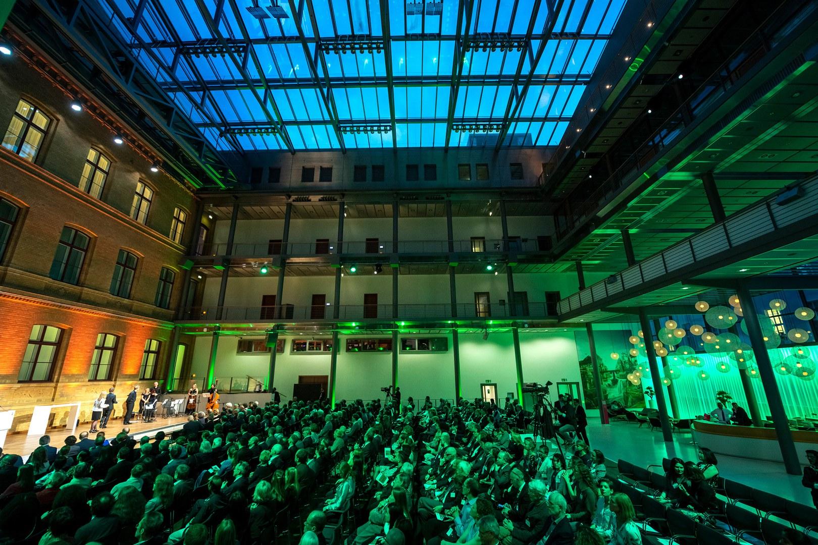 Festive event in Berlin: