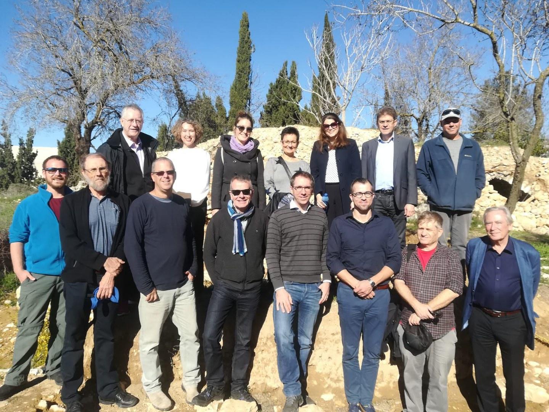 Rectorate delegation visits Israel